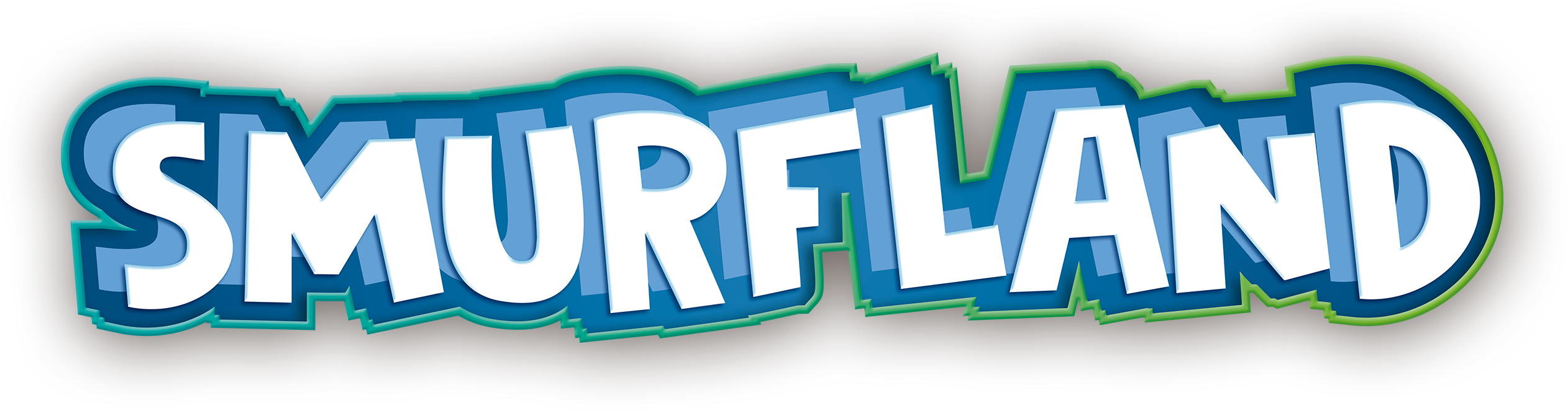 logo SMURFLAND 3d